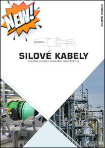 Brožura Silové kabely
