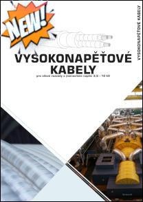 Brožura Vysokonapětové kabely